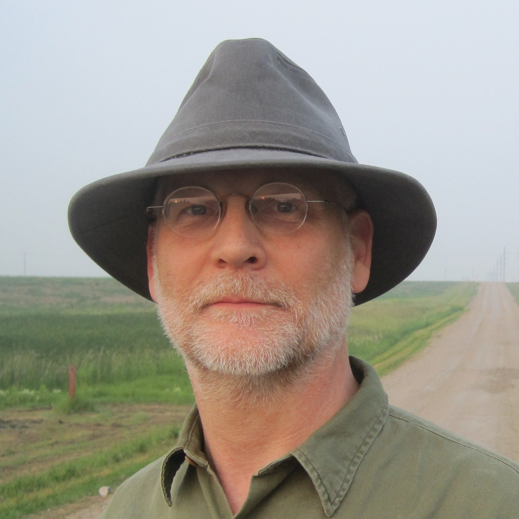 A photo of James Trettwer, the author of Thorn-Field.